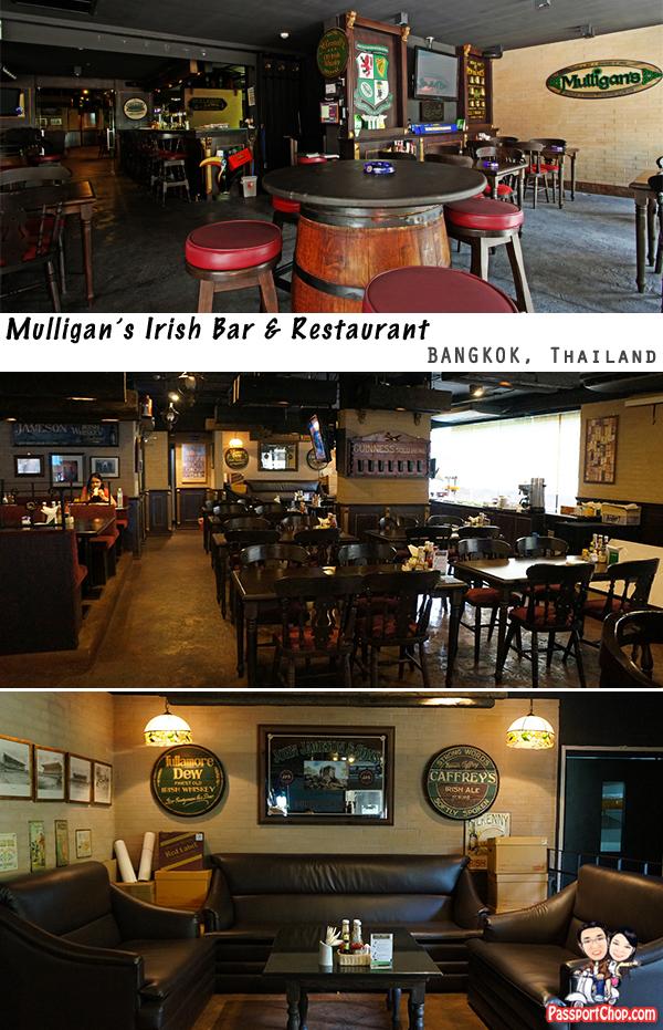Mulligans Irish Pub and Restaurant Citadines Sukhumvit Bangkok Thailand