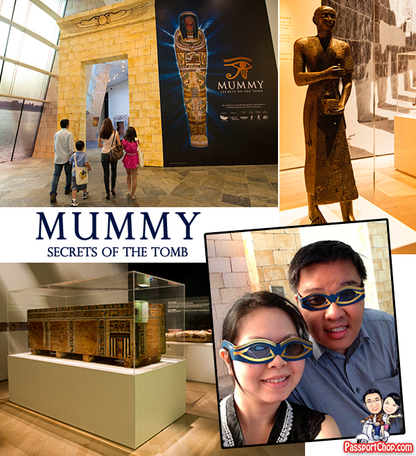 Marina Bay Sands Art Science Museum Mummy Secrets of the Tomb Nesperennub 3D Film Experience
