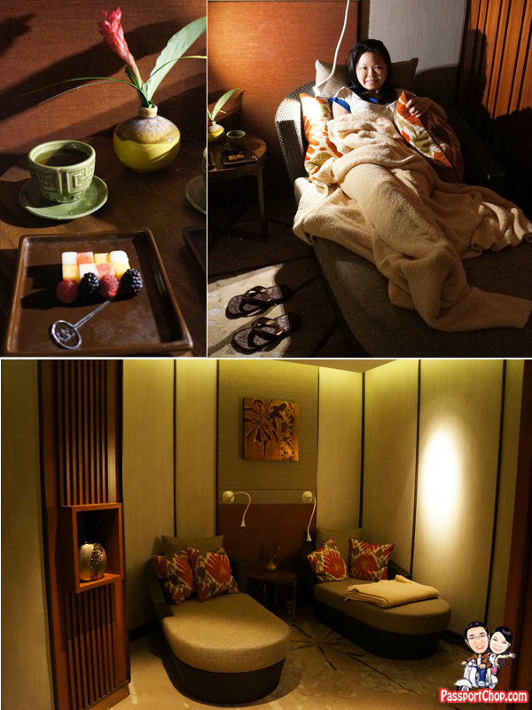 Shangri-La Singapore Orchard CHI, The Spa Staycation Pamper Packages After Spa Relaxation Room