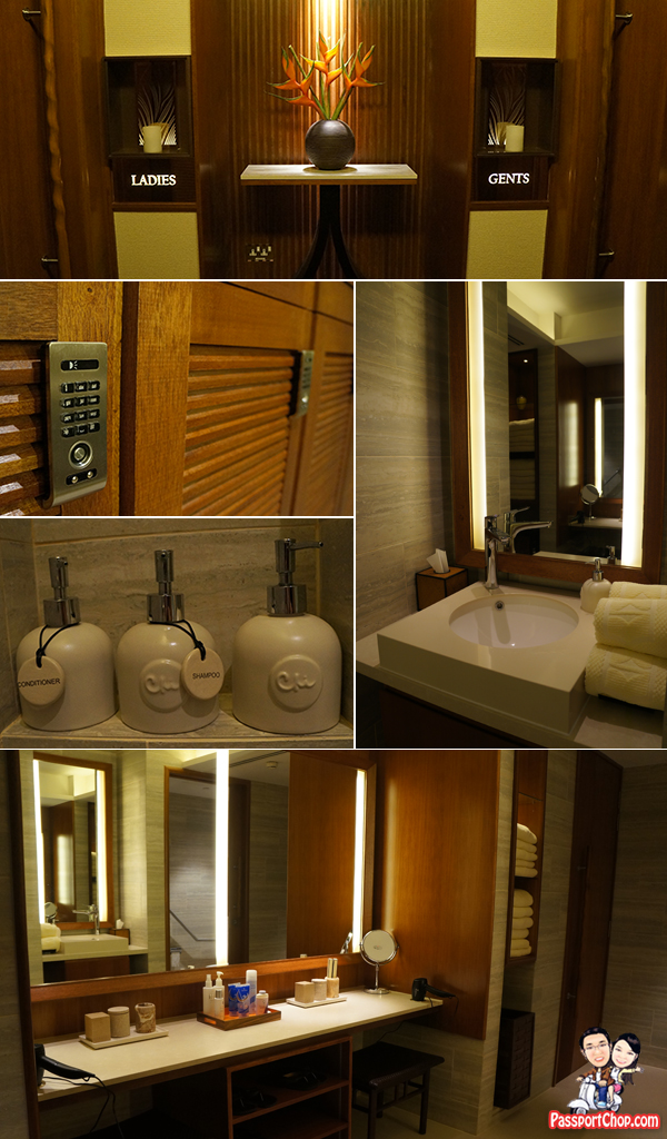 Shangri-La Singapore Orchard CHI, The Spa Staycation Pamper Packages Spa Toilet Lockers Privacy Bathrobes Well Equipped