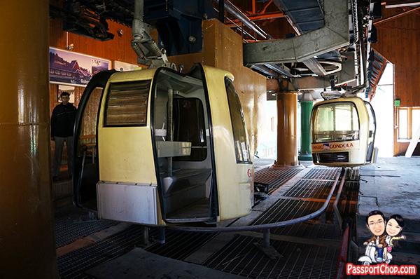Gulmarg Gondola cable car up Mount Aparwath Phase 1 and Phase 2 Kungdoor