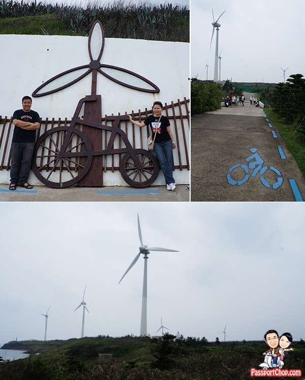 Zongtun Jhungtun Windmill Power Park 中屯風車 Penghu 澎湖環島