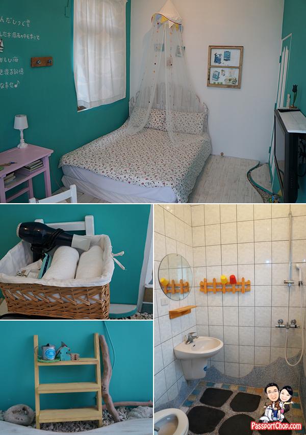 天邊海角民宿 minsu 澎湖Penghu 馬公 Magong accommodation Review Hotel 看海趣 陽台海景雙人套房 Balcony Sunset View room