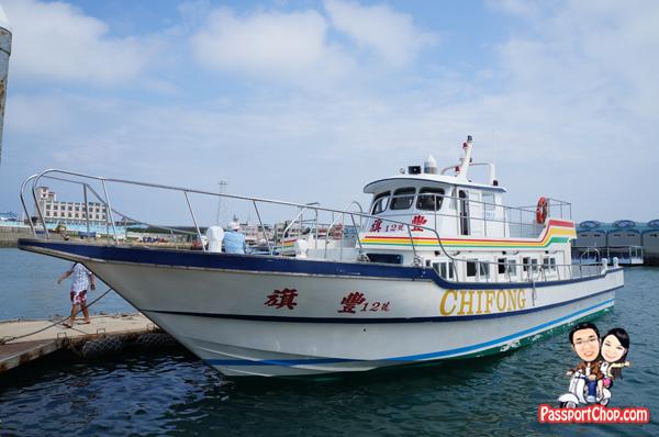 Boat Ride ChiKan Harbour 往赤崁碼頭