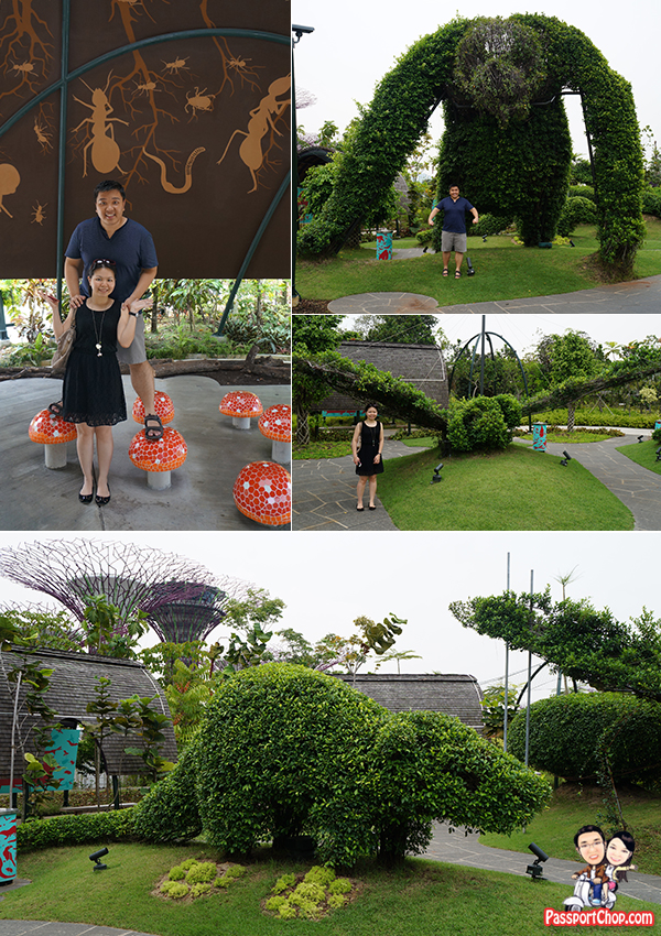 Exploring around