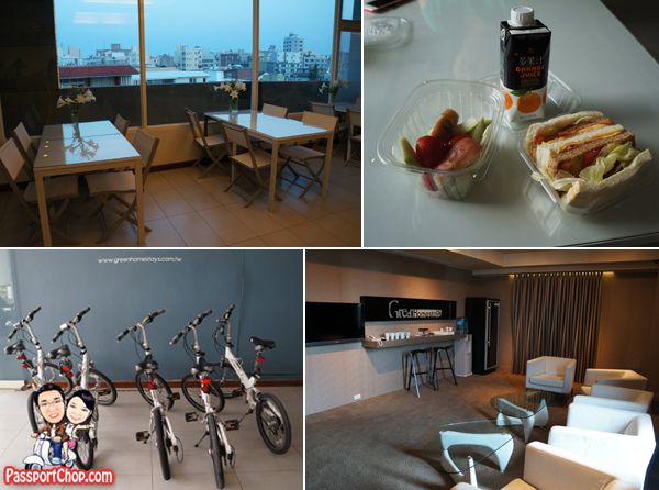 綠的旅店民宿 Green Travel Homestays 澎湖 Lobby Breakfast Free Bicycle Rental