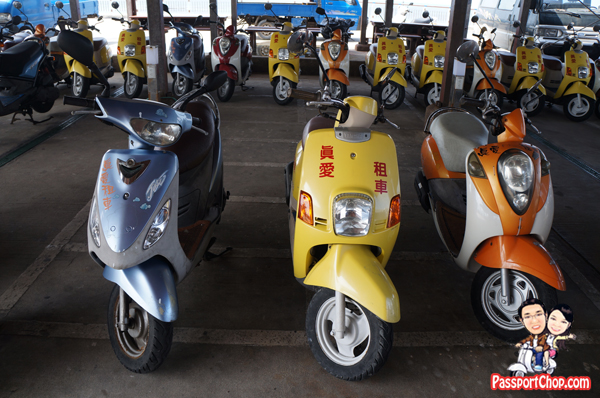 Scooter Rental 吉貝 Jibei Island Getting Around Transport