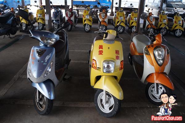 Scooter Rental 吉貝 Jibei Island Getting Around Transport