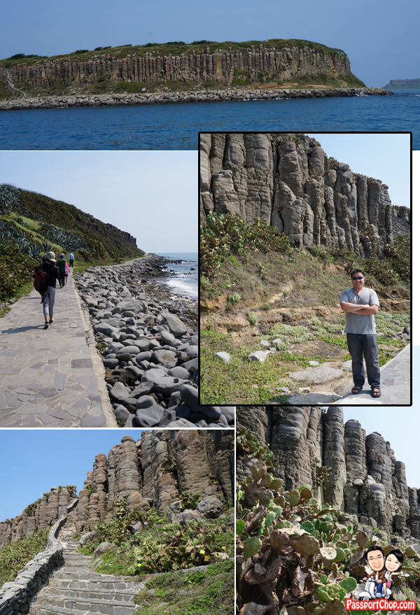 Tongpan Basalt Columns Nature Penghu South Sea Island Hopping