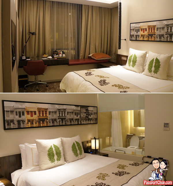 King Sized Bedroom Ramada Hotel Singapore Staycation Balestier Heritage Trail Novena MRT Days Inn
