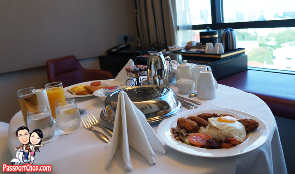 Room Service Breakfast Ramada Hotel Singapore Staycation Balestier Heritage Trail Novena MRT Days Inn