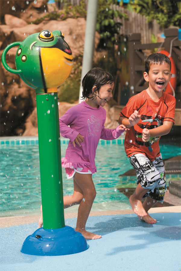 Just Have Fun Water ShangriLaHotel-SchoolOut-FunIn