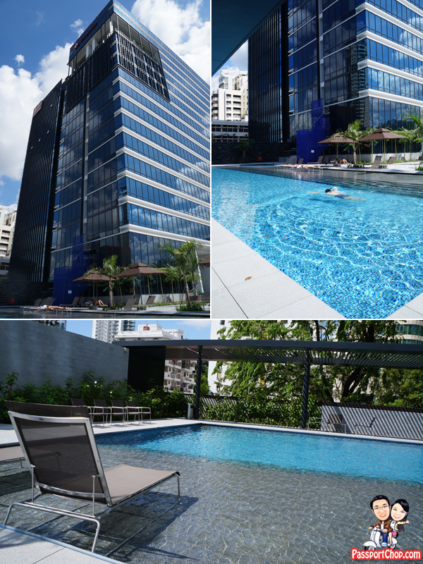 swimming pool Ramada Hotel Singapore Staycation Balestier Heritage Trail Novena MRT Days Inn