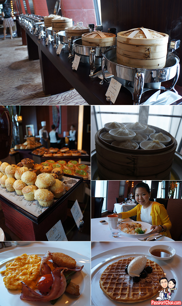 China World Summit Wing Dim Sum Breakfast