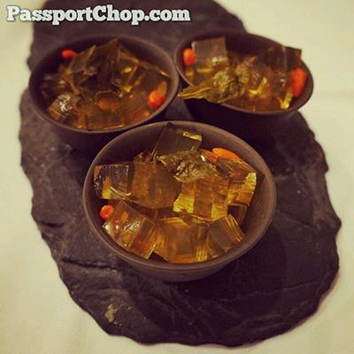 Huhhot Shang Palace Chef Menex Dessert Tea