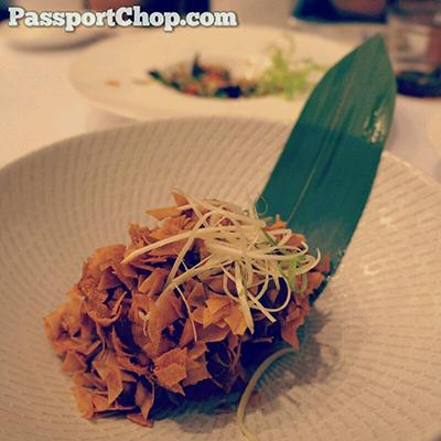 Huhhot Shang Palace Chef Menex Lamb Dish