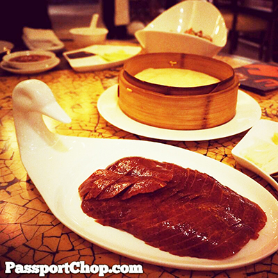 Peking Duck Horizon Restaurant Kerry Beijing