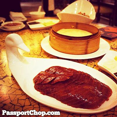 Peking Duck Horizon Restaurant Kerry Beijing