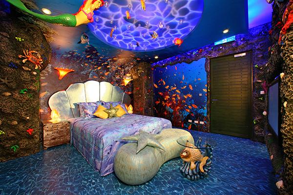 sato castle mermaid themed room 510