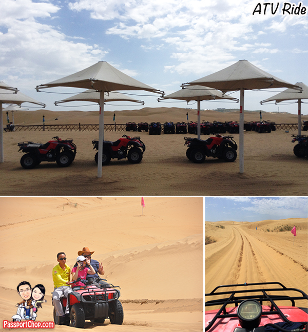 Resonant Sand Bay Gorge Singing Sand Ravine Baotou Xiangshawan atv ride All Terrain Vehicle