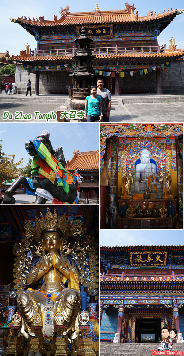 Dazhao 大召寺 Lamasery Temple Huhhot Inner Mongolia City Tour Sightseeing