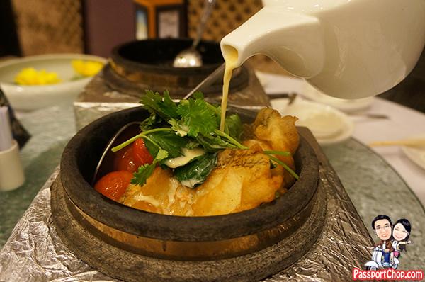 Huhhot Shangri-La Hotel Inner Mongolia China Shang Palace 呼和浩特香格里拉大酒店 香宫 张嘉裕主厨 Claypot Fish