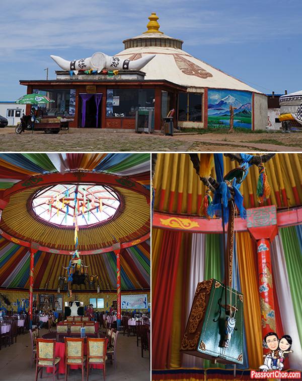 Xilamuren Grassland 希拉穆仁草原 Inner Mongolia Grassland Meng Gu Ren Sheng Di Mongolian Sacred Land Resort Common Dining Area Restaurant 蒙古人圣地度假村