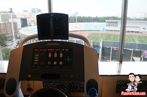 Huhhot Shangri-la Hotel China Inner Mongolia Hotel Gym