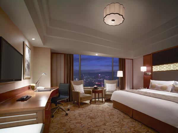 Huhhot Shangri-la hotel room Mongolian Yurt Design China Inner Mongolia