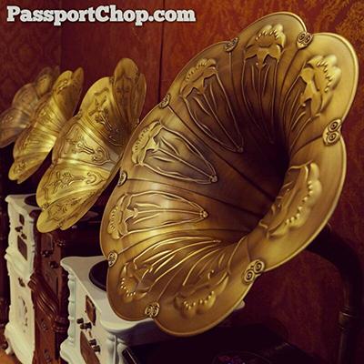 Baotou Market Shangri-la Hua Yuan Gramophone