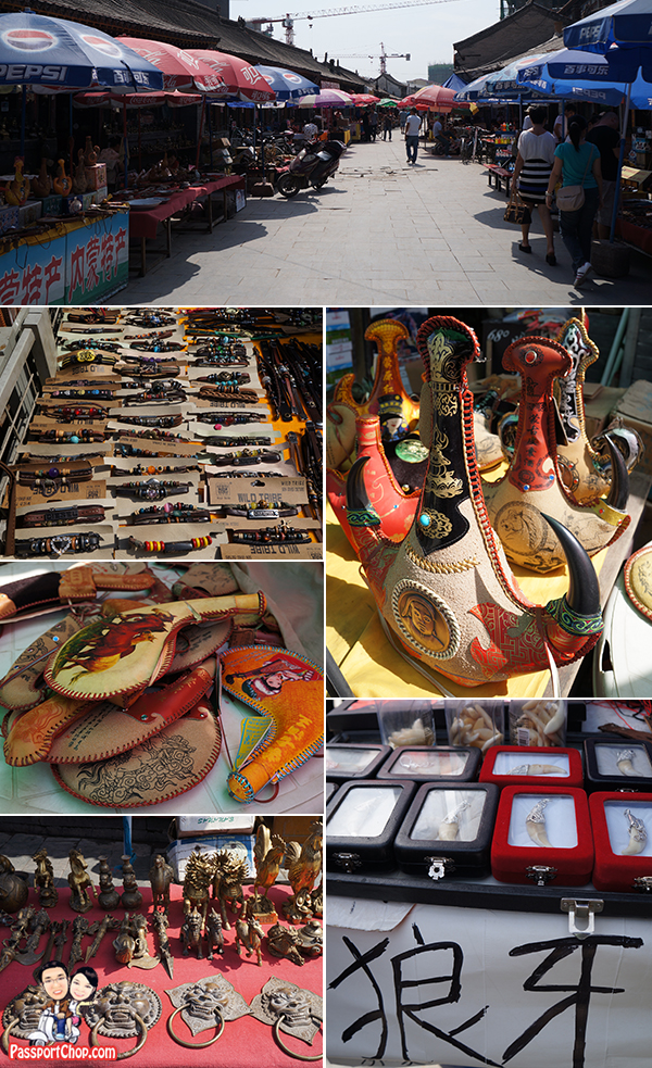 Sai Sang Old Street 塞上老街 Huhhot Inner Mongolia City Tour Sightseeing