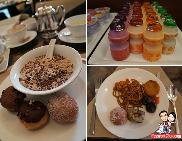 The Fullerton Hotel Singapore English Continental Breakfast Straits Club Lounge