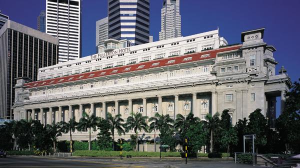FULLERTON HOTEL SINGAPORE Facade 01.