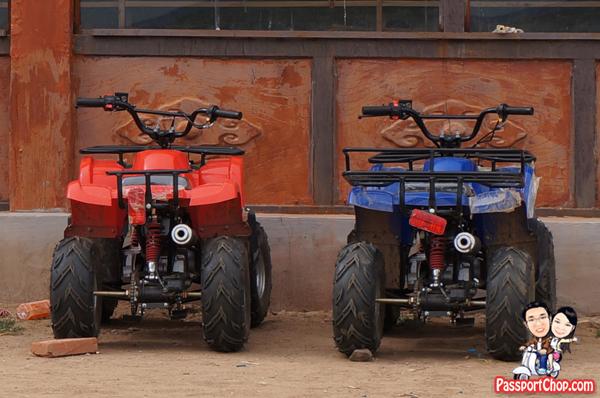 Xilamuren Grassland 希拉穆仁草原 蒙古人圣地度假村 Inner Mongolia Grassland Meng Gu Ren Sheng Di Mongolian Sacred Land Resort Shangri-La Huhhot Grassland Experience ATV Ride