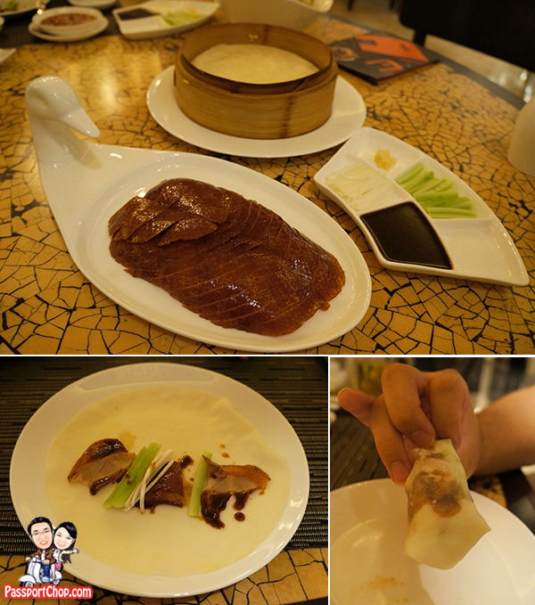 Authentic Ya Yuan Peking Duck Chief Yuan Chaoying Ya Yuan Kerry Beijing Horizon Restaurant Served with Mandarin Crepes