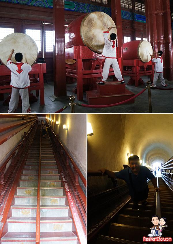 drum tower 鼓楼 Beijing Hutong Tour Performance