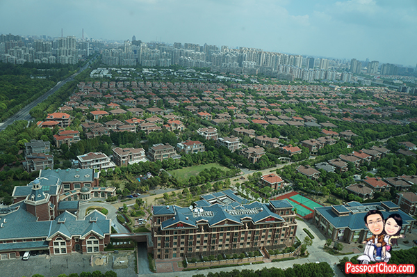 Kerry Pudong hotel suburb parkview