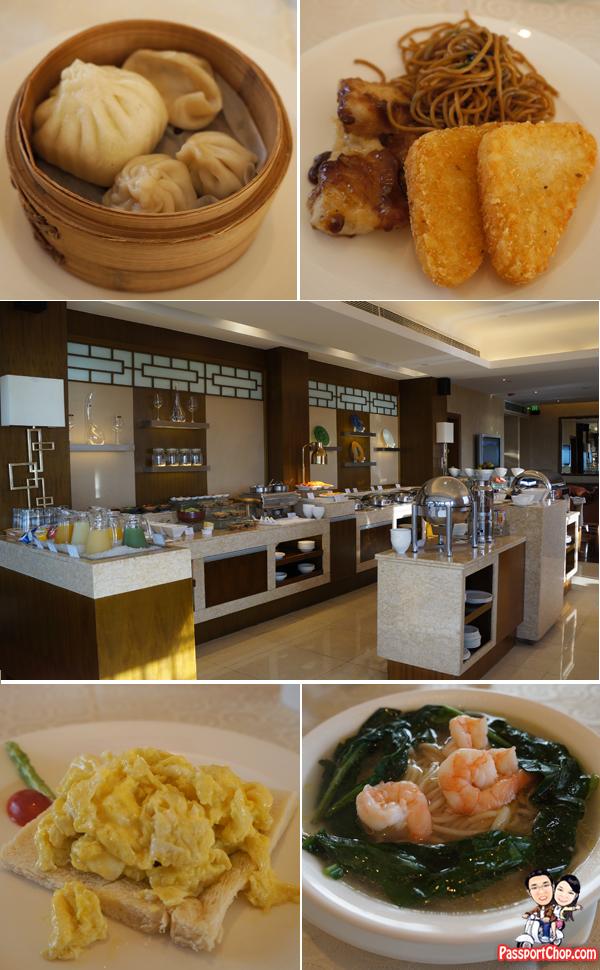 Shangri-La Hangzhou Lounge Breakfast
