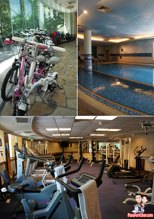 Shangri-La Hangzhou fitness center bicycle rental
