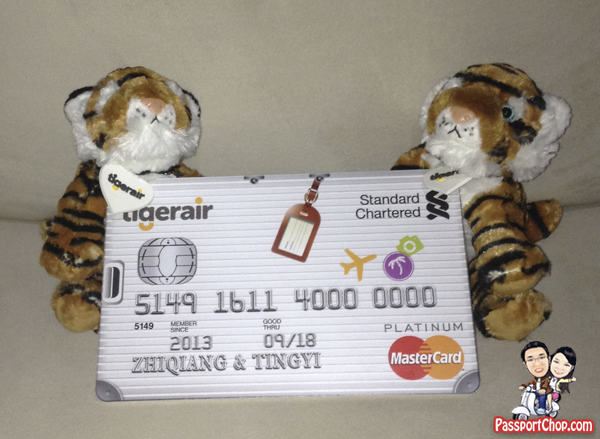 Tiger Air Standard Chartered Credit Card