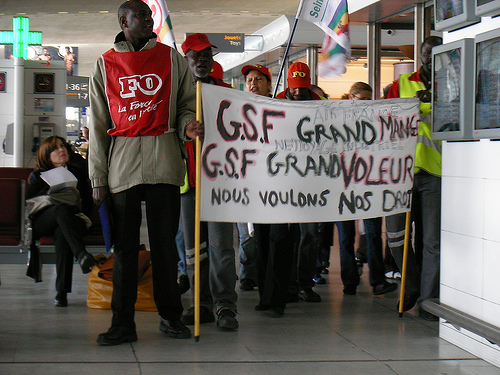 Airport Worker Strike