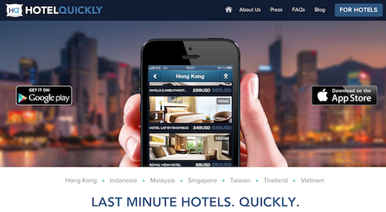 HotelQuickly Last Minute Hotel Booking App