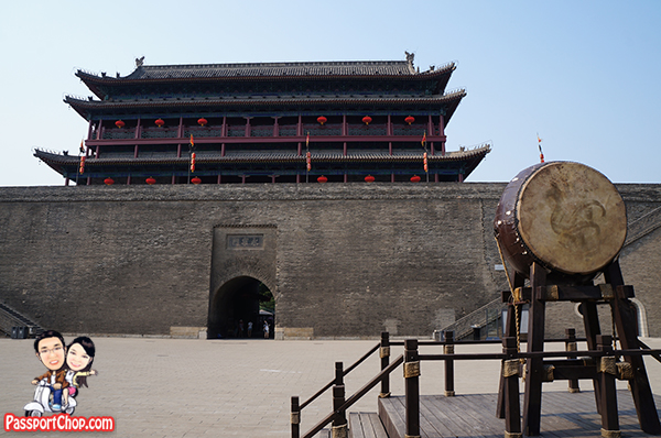 xian city gate wall