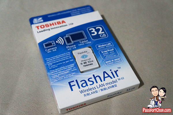 Review of Toshiba FlashAir Wireless SD Card – Sharing Pictures