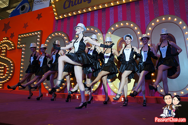 Changi Millionaire Dancing Top Hat Model Dancers Elimination Round