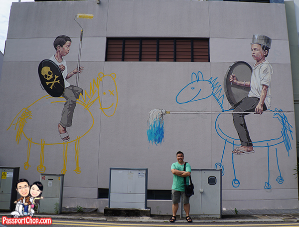 Ernest-Zacharevic-Singapore-Children-Horse-Fight