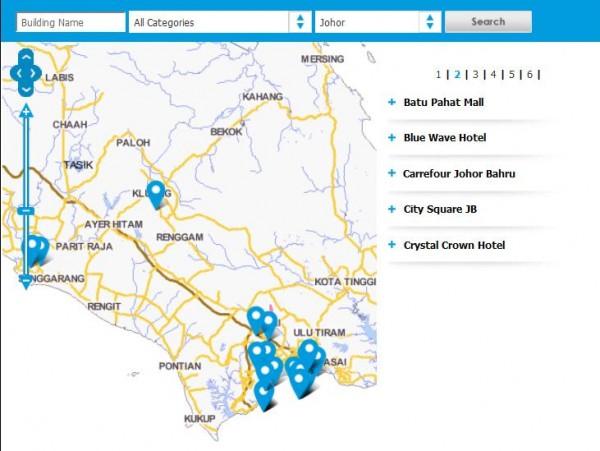 Malaysia Johor Celcom First WiFi Coverage