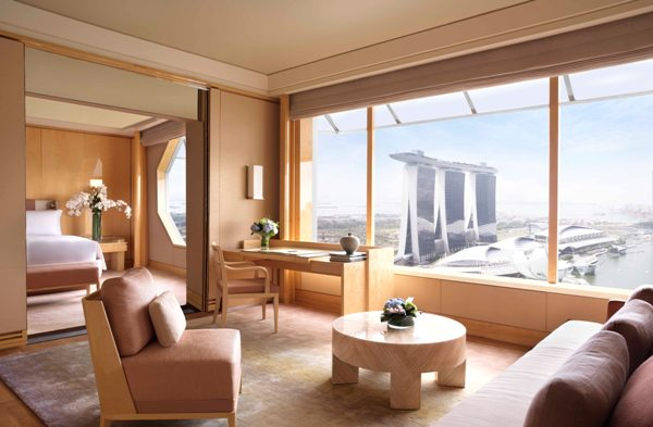 The Ritz Carlton Singapore Premier Suite Staycation Review