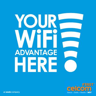 Celcom First WiFi Malaysia Traveller SIM