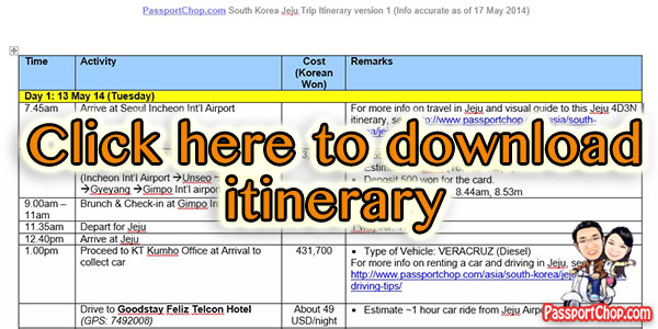 Jeju-Itinerary-Download